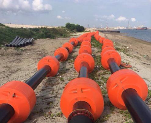 Phao nâng ống HDPE