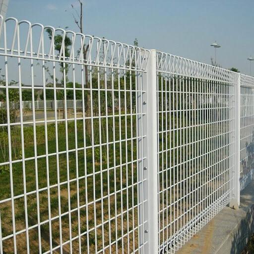 Hàng rào thép hàn, sơn tĩnh điện