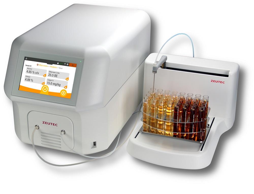 Máy phân tích bia rượu bằng quang phổ cận hồng ngoại NIR- SpectraAnlyzer BRAUMEISTER