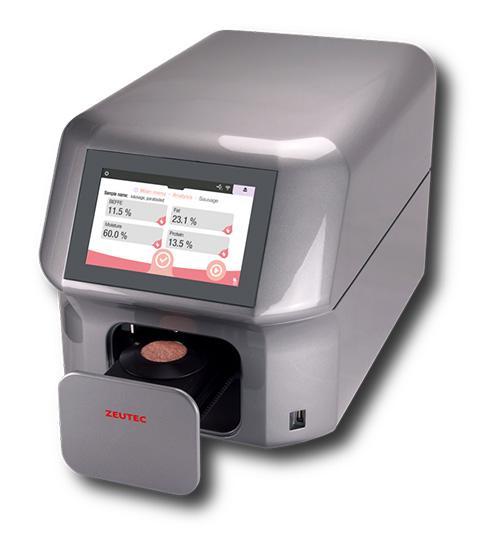 Máy phân tích thịt bằng quang phổ cận hồng ngoại NIR- SpectraAnlyzer