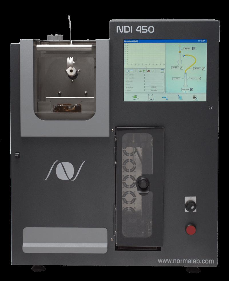 Thiết bị chưng cất xăng dầu tự động theo ASTM D86- Normalab NDI 450