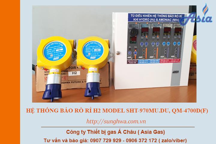Cảm biến khí H2 (hydro) rò rỉ công nghiệp