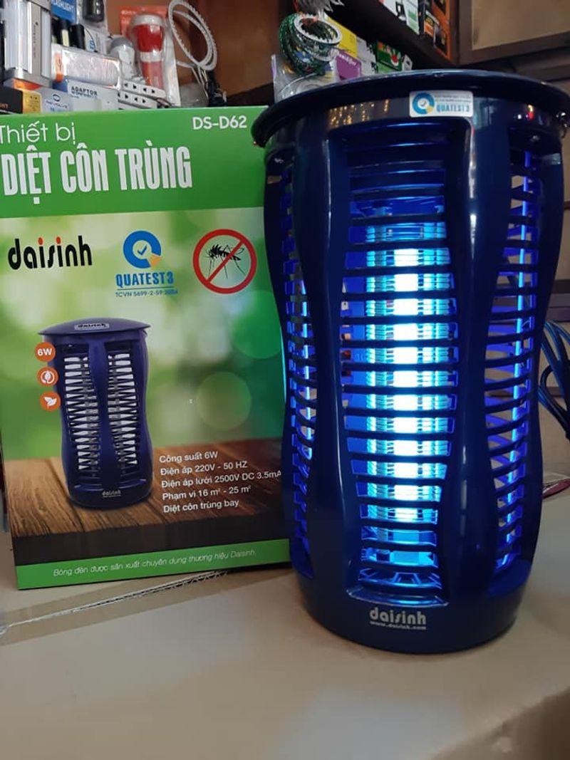Đèn diệt côn trùng DS-D62 6W-DC
