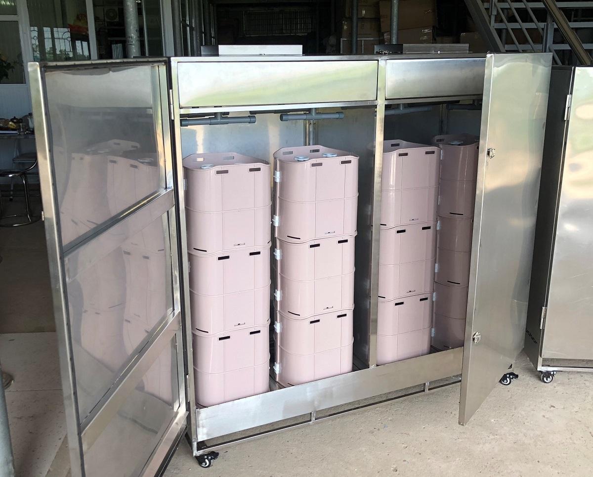 Máy ủ giá công nghiệp phiên bản mới- hoàn toàn tự động