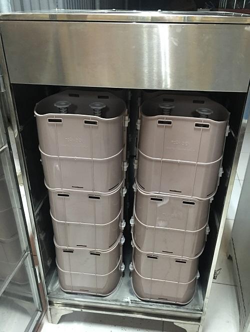 Máy ủ giá đỗ công nghiệp loại 150 kg/ mẻ