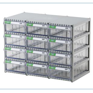 Tủ đựng linh kiện điện tử 12 ngăn