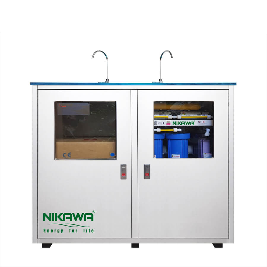 Máy lọc nước tinh khiết RO, công suất 50L/h, 100L/h NIKAWA