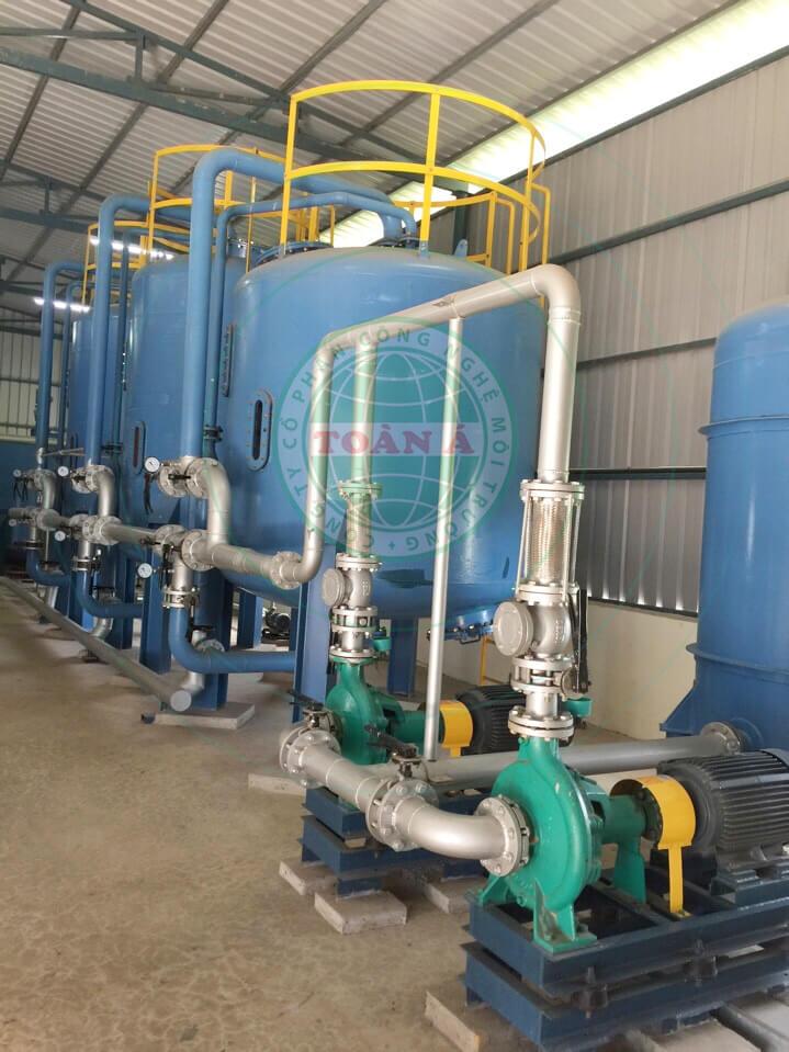 Hệ thống lọc làm mềm nước cấp lò hơi công nghiệp
