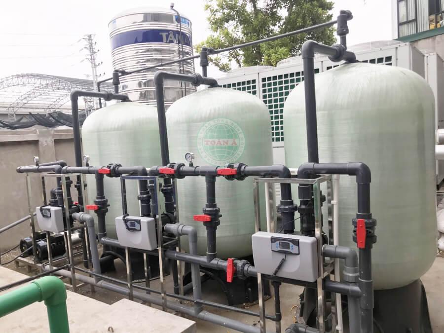 Thiết kế, lắp đặt hệ thống xử lý nước tinh khiết RO cho công nghệ thực phẩm