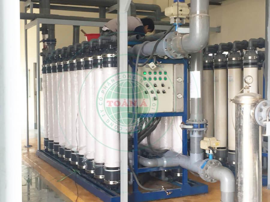 Hệ thống lọc tổng sử dụng công nghệ màng lọc UF công nghiệp