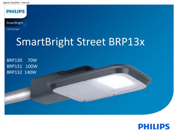 Đèn đường led Philips BRP132-140W
