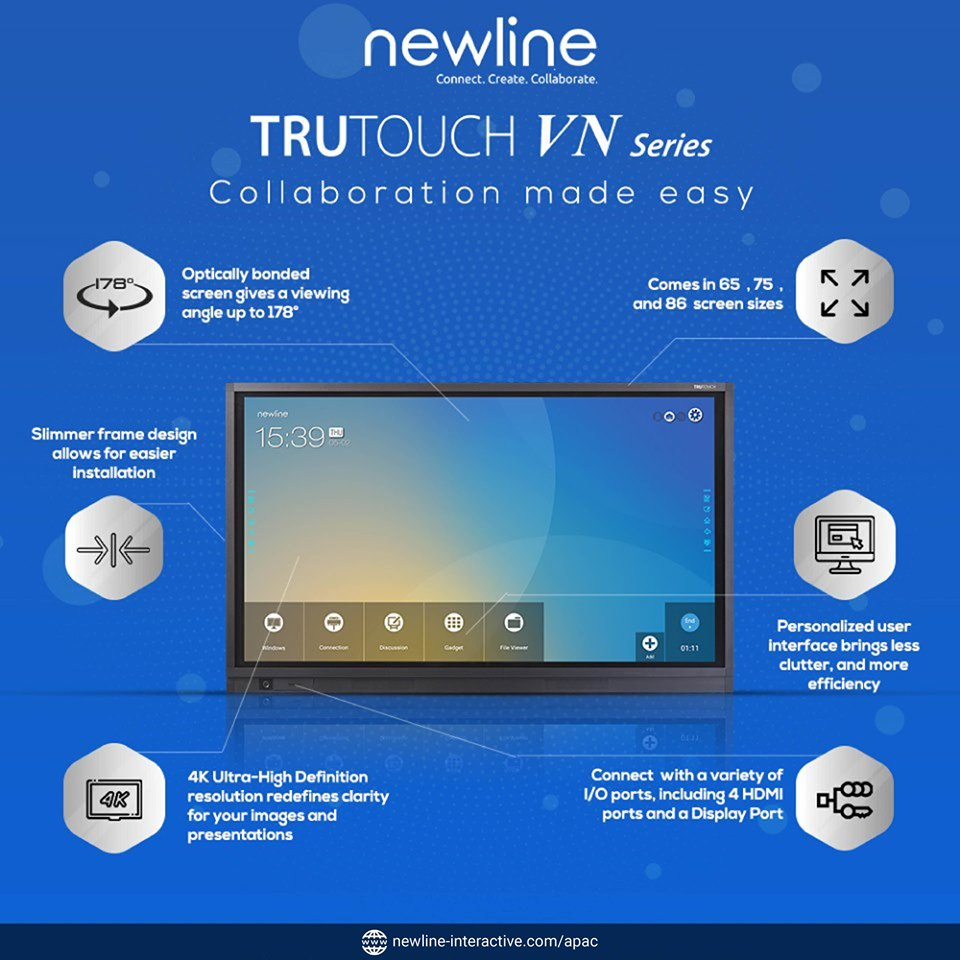 Màn hình tương tác thông minh Newline TRUTOUCH VN Series