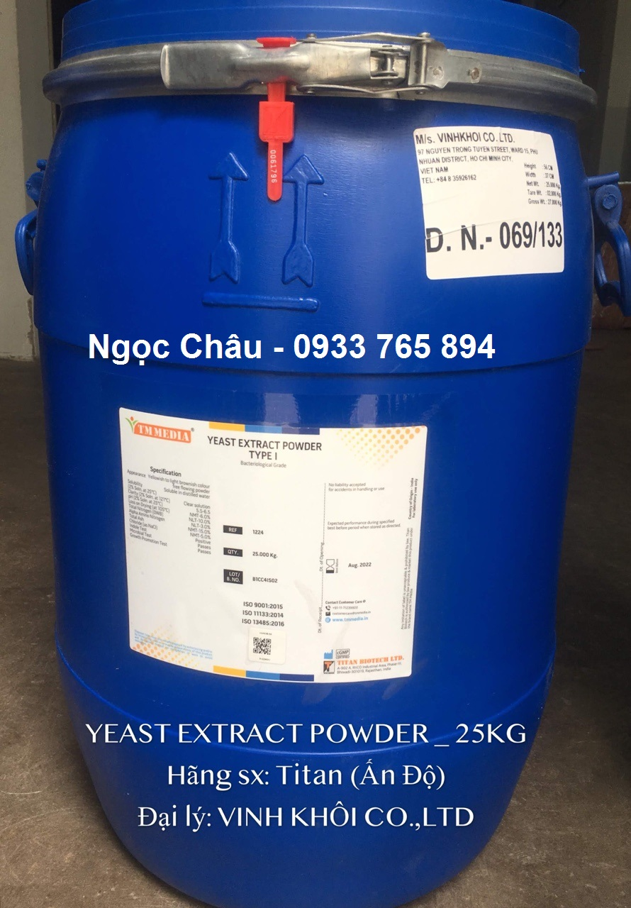 Yeast Extract Powder (Cao nấm men)