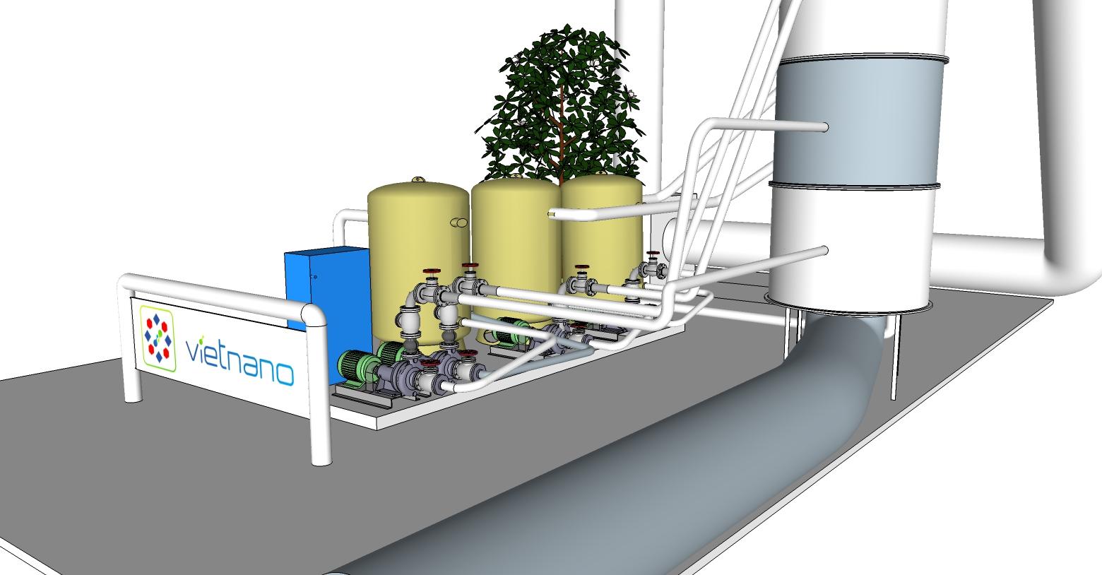 Hệ thống xử lý khí thải nhiễm mùi VGT01