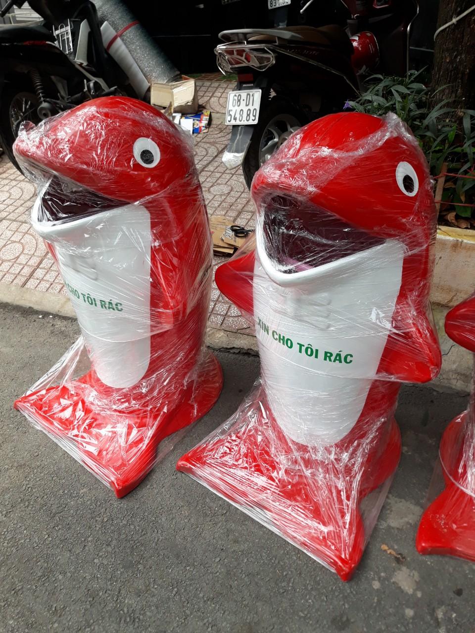 Cung cấp thùng rác hình con vật