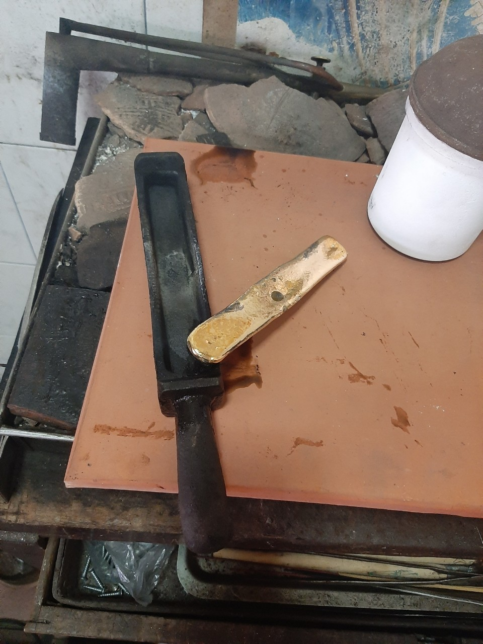 Máy nấu vàng cao tần
