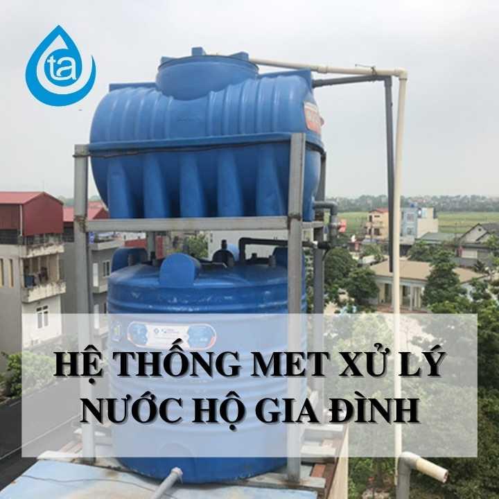 Công nghệ xử lý nước sinh hoạt