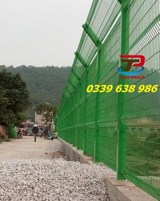 Hàng rào lưới thép, lưới hàng rào mạ kẽm, hàng rào sơn tĩnh điện