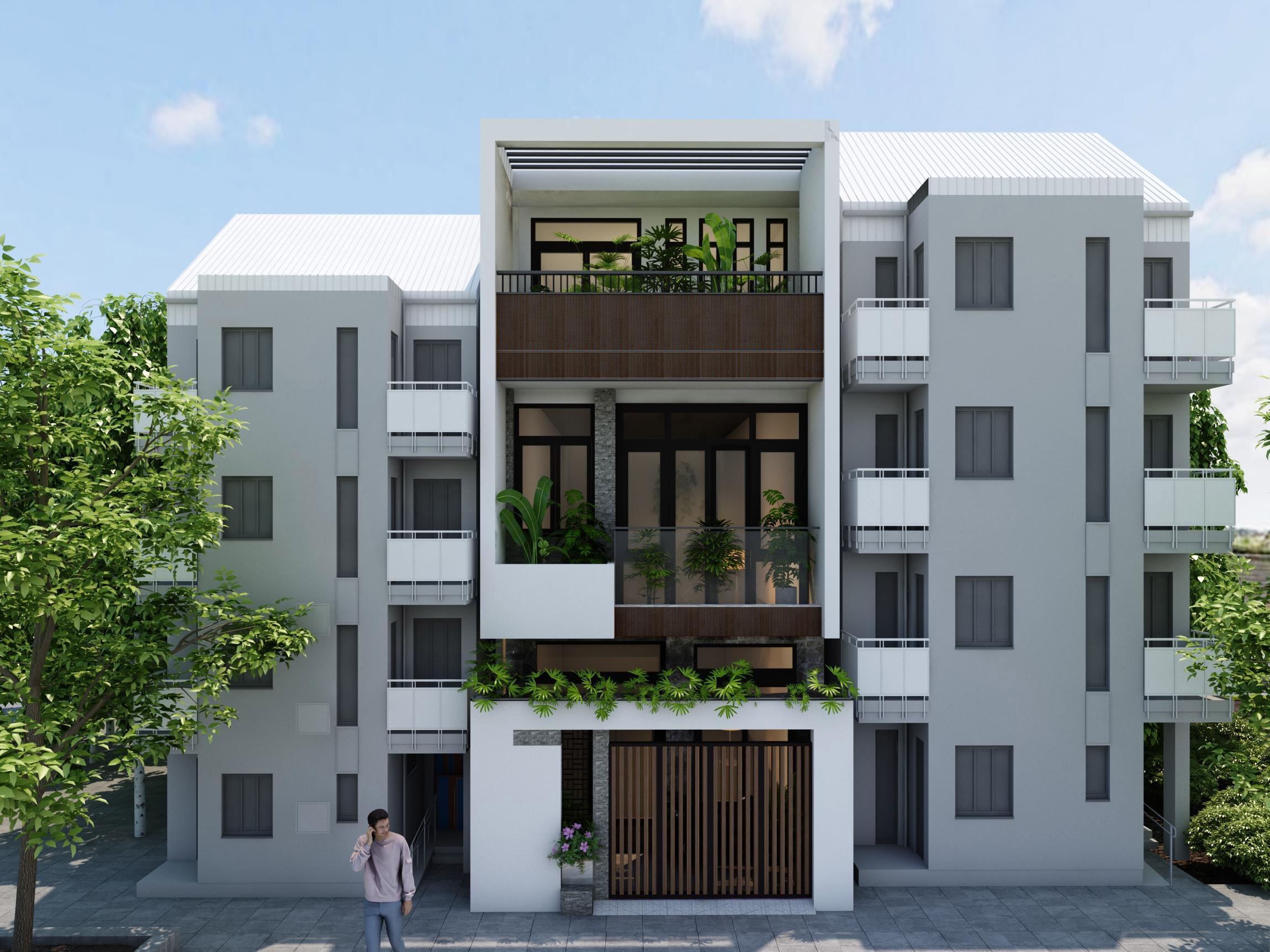 Mẫu thiết kế nhà 3 tầng 5x18m đẹp hiện đại và sang trọng