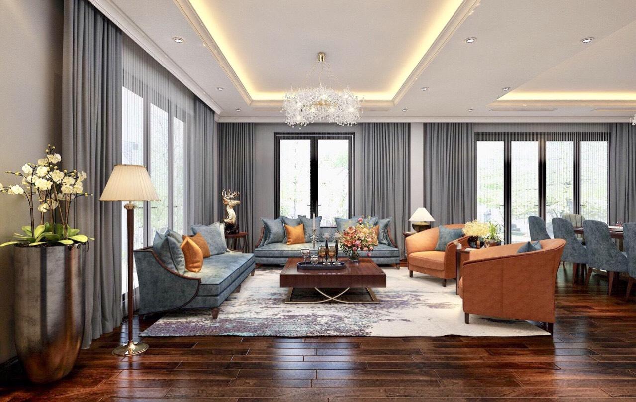 Thiết kế thi công nội thất trọn gói biệt thự Vinhomes