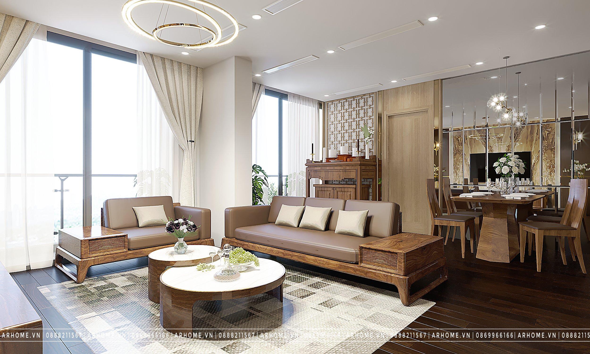 Thiết kế nội thất căn hộ Vinhomes Symphony Riverside