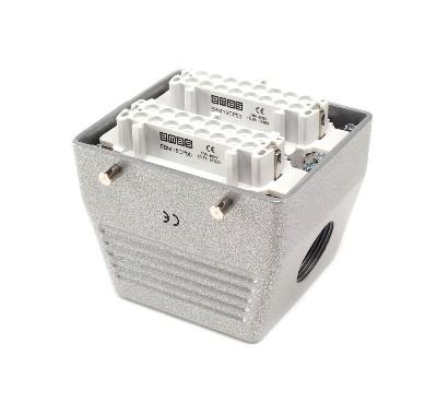 Cung cấp Jack cắm công nghiệp 32 Poles, 16A - Metal industrial Plugs & Sockets