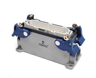 Jack cắm công nghiệp 24 Poles, 16A - Metal industrial Plugs & Sockets