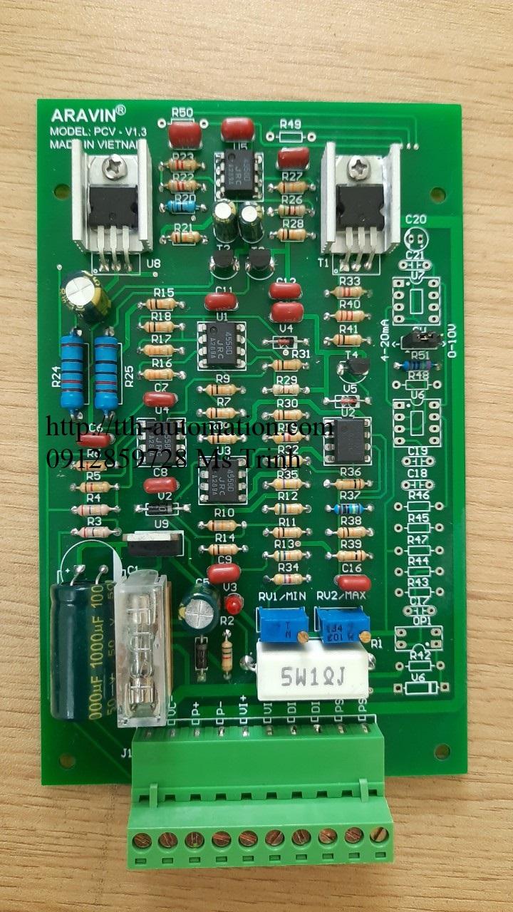 Module điều khiển van tỷ lệ ứng dụng cho các van tỷ lệ điều khiển áp suất, lưu lượng thủy lực và khí nén