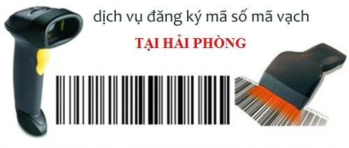 Dịch vụ đăng ký mã số mã vạch tại Hải Phòng