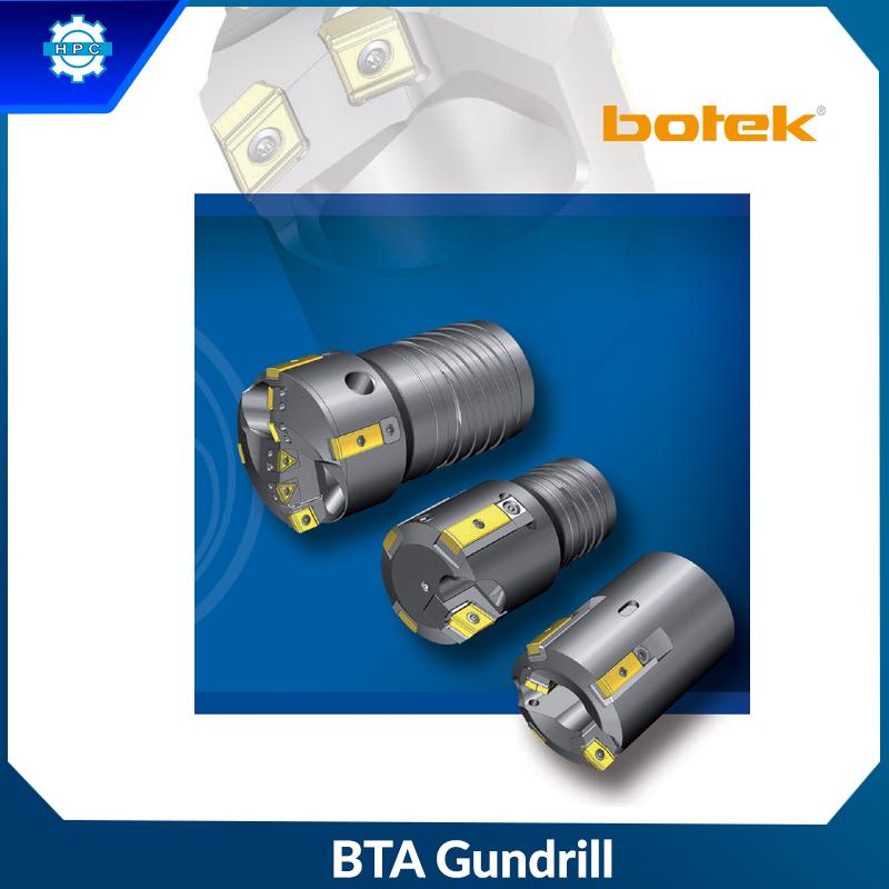 Mũi khoan sâu ghép mảnh Botek - dòng BTA