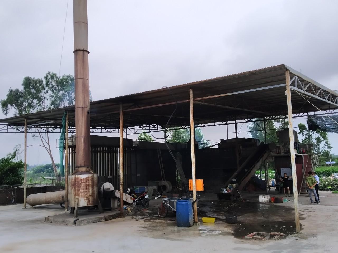 Lò đốt rác thải sinh hoạt model GVN