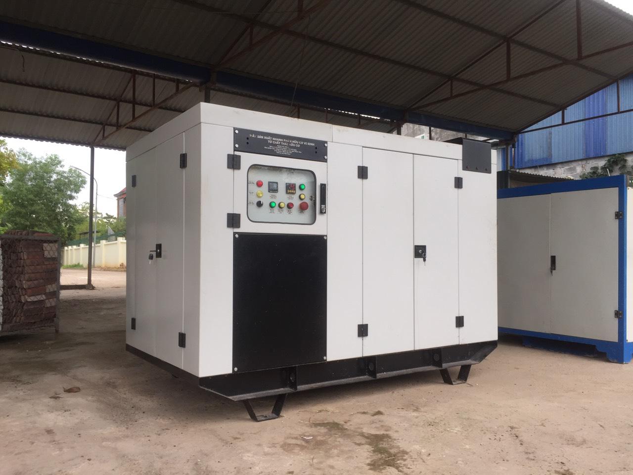 Máy ủ phân siêu tốc RCM-200