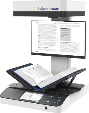 Máy scan Bookeye model BE4V3 BASIC_ Dùng cho phòng hành chính, kế toán, vật tư, kho, lưu trữ, thư viện