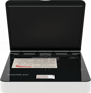 Máy quét phẳng WideTEK ® 24F khổ rộng A2( 610 x 457)mm, màu, tốc độ quét 4 giây/A2, siêu bền