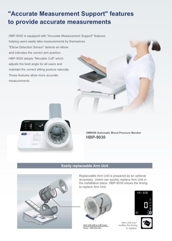 Máy đo huyết áp chuyên dụng OMRON HBP 9030