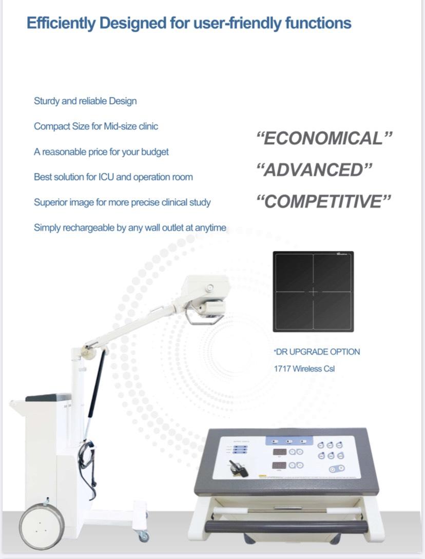 Hệ thống X-quang di động cao tần