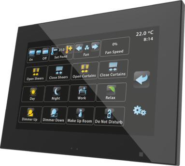 Màn hình cảm ứng 7 inch KNX ZVIZ70LAP