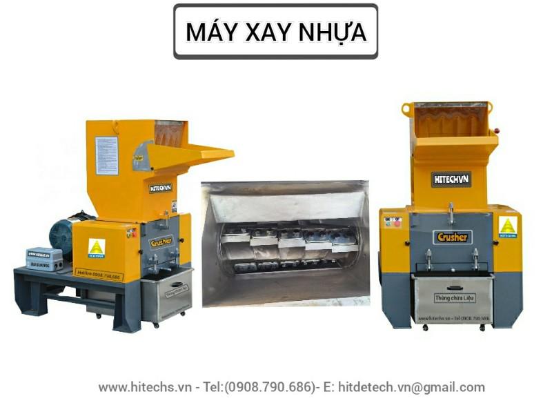 Máy băm nhựa xay nhựa tốc độ cao Hitech-1CR500