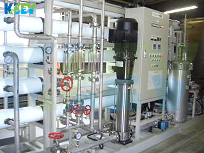 Hệ thống lọc UF công nghiệp