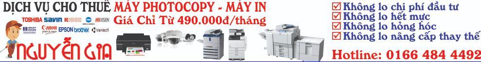 Công ty TNHH thương mại và dịch vụ thiết bị văn phòng Nguyễn Gia