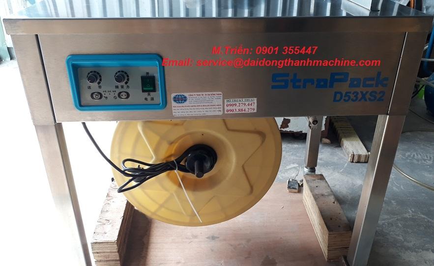 Máy đai niềng thùng chính hãng Strapack D-53 XS2 giá rẻ Hà Nội