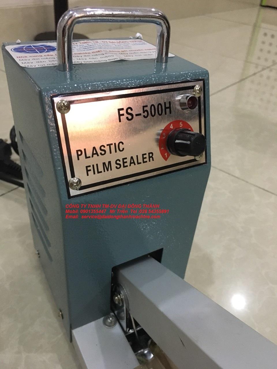 Máy hàn miệng bao đạp chân PFS-600 dễ sử dụng, giá tốt