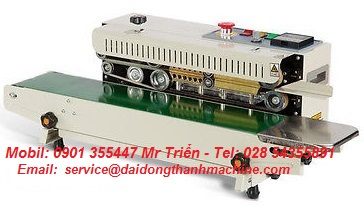 Máy hàn miệng bao băng tải DBF-770LD giá tốt