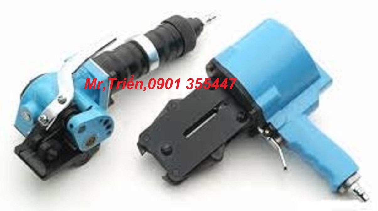 Máy đóng đai thép dùng khí nén kẹp bọ cầm tay model A452/ A461 giá rẻ