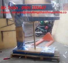 Máy đóng dập ghim góc thùng carton bán tự động WP-1400 xuất xứ Taiwan