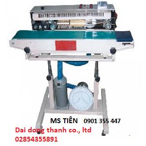 Máy hàn miệng bao liên tục bơm thổi khí model DBF-1000