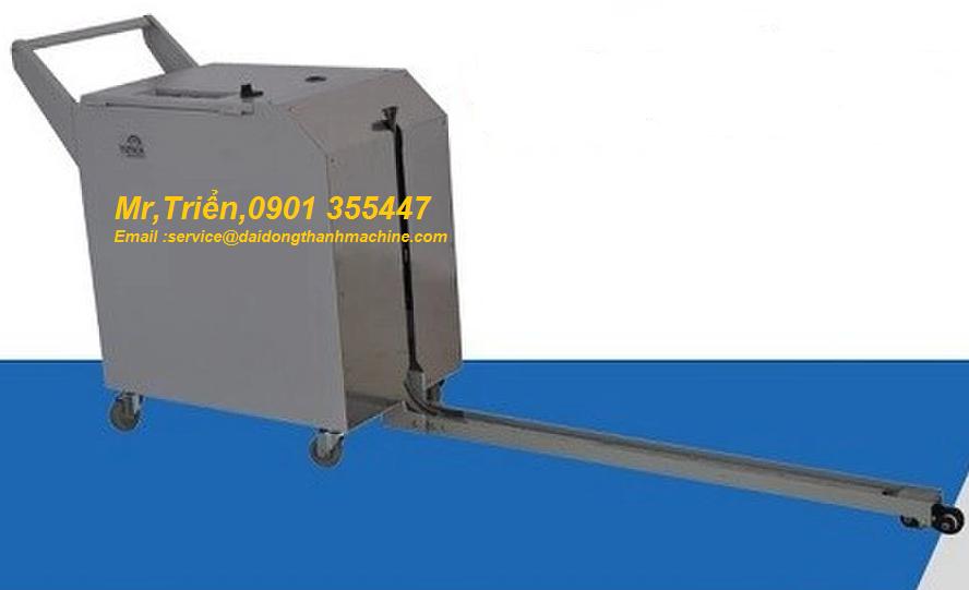 Máy đóng đai nhựa pp pallet bán tự động hàn nhiệt SP-3N giá rẻ