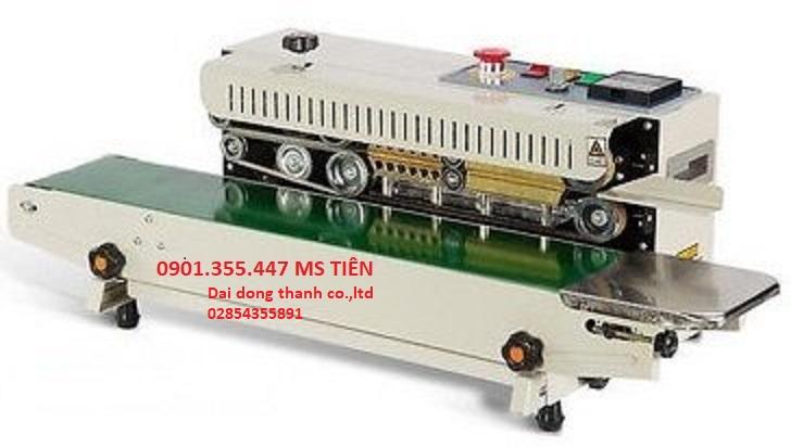 Máy hàn miệng bao liên tục DBF-770 made in Taivwan giá rẻ
