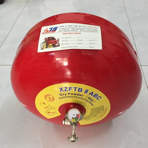 Bình cầu tự động bột BC 8kg
