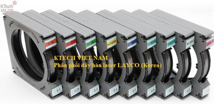 Dây hàn laser Hàn Quốc LAYCO